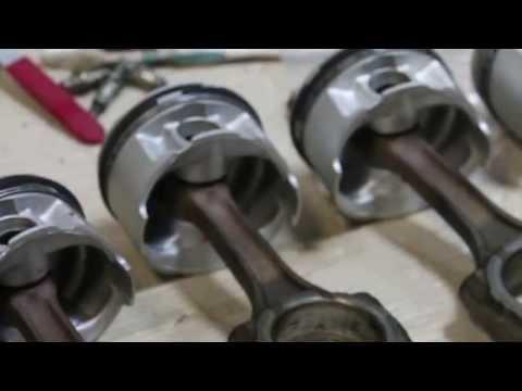 Сборка двигателя. Обжимка поршневых колец.avtoceh 3