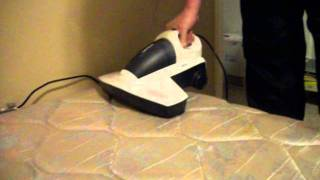 verilux cleanwave vac demonstration