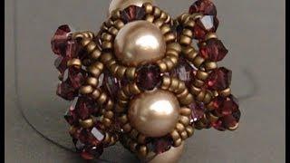getlinkyoutube.com-Sidonia's handmade jewelry - Beaded Bead Tutorial