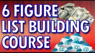 List Building Tutorial - How To Build A Big List Step By Step Training