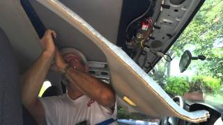 getlinkyoutube.com-Cougar Sunroof removal and install