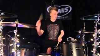 getlinkyoutube.com-Green Day - 21 Guns - Drum Cover - Brooks