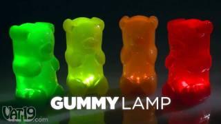 GummyLamp Gummy Bear Nightlight view on youtube.com tube online.