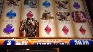 getlinkyoutube.com-WMS Slot Machine Laredo 20 free spins Bonus.
