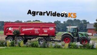 getlinkyoutube.com-Krampe Roadrunner 34 Prototyp [Demotour 2014] Maishäckseln für eine Biogasanlage