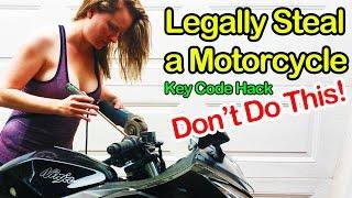 getlinkyoutube.com-Legally Steal a Motorcycle - Motorcycle Key Codes