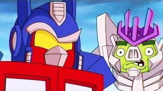 getlinkyoutube.com-ANGRY BIRDS TRANSFORMERS Trailer Cinématique (VHS Rip)