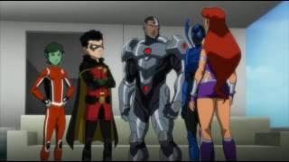 getlinkyoutube.com-Justice League vs Teen damian wayne son of batman defeat superman