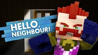 getlinkyoutube.com-Minecraft HELLO NEIGHBOUR - THE NEIGHBOUR SPEAKS!