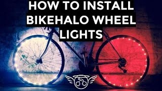 getlinkyoutube.com-How To Install BikeHalo Wheel Lights