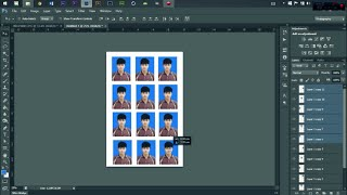 getlinkyoutube.com-วิธีทำรูปติดบัตร โดยใช้ Photoshop