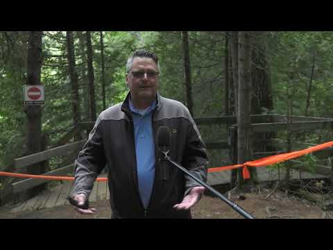 Investissement majeur pour la réhabilitation des escaliers de la chute Jean-Larose