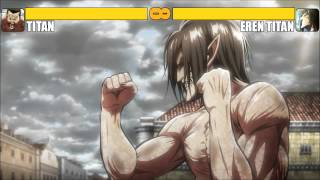 getlinkyoutube.com-Titan vs Eren Titan [K.O]