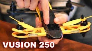 RISE Vusion 250 Race Drone CRASH & Repair - Replacing Arms - Modular RTF FPV Drone - TheRcSaylors