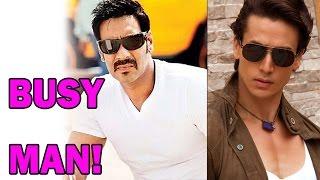 getlinkyoutube.com-Tiger Shroff calls Ajay Devgan a 'Busy Man'!   Bollywood News