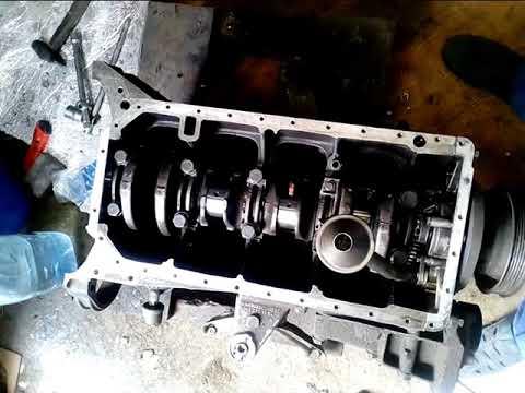 Мерседес ремонт двигателя м102