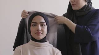 getlinkyoutube.com-Hana Tajima Collection Tutorial : Hijab