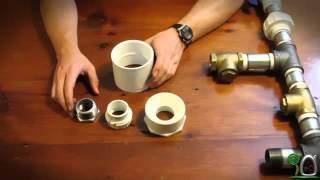getlinkyoutube.com-Cara Merakit Pompa HIDRAM bahan PVC - You Tube