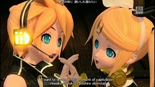 [60fps Rin Len Full風] Magnet マグネット - Kagamine Rin Len DIVA 鏡音リン レン DIVA English lyrics romaji