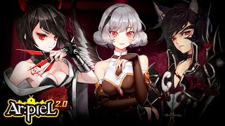 getlinkyoutube.com-Arpiel 2.0 - Hanna Golden Eagle (New Character) - lvl 12~29 Gameplay - F2P - KR