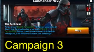 getlinkyoutube.com-Star Wars: Commander - Campaign 3: Part 1 (Mission 1-16 The Sickness) 3 Stars Walkthrough