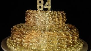 getlinkyoutube.com-Técnica de como dourar um bolo