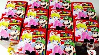 【Choco Egg】SUPER MARIO 3D WORLD 「狙いはネコピーチ!」マリオチョコエッグ第2弾【箱買い開封レビュー】