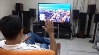 getlinkyoutube.com-Teste: TV Samsung 4K 55 polegadas
