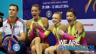 getlinkyoutube.com-HIGHLIGHTS - 2014 Acrobatic Worlds, Levallois-Paris (FRA) - Women's Groups - We are Gymnastics!