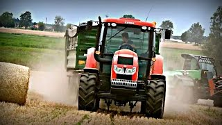 getlinkyoutube.com-Prasowanie Słomy 2015 ✭ Zetor,Deutz Fahr ✭㋡ HD URSUS TEAM