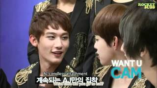 getlinkyoutube.com-110916 Want U Cam - U-KISS Cut (en)