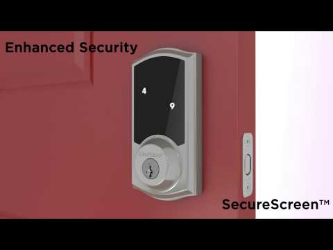 SmartCode 916 Touchscreen Electronic Deadbolt by Kwikset – Security features and functionality