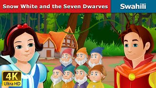 Snow White and the Seven Dwarfs in Swahili | Hadithi za Kiswahili | Swahili Fairy Tales width=