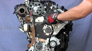 getlinkyoutube.com-VW Jetta, Sportwagen, Golf TDI, and Audi A3 TDI timing belt replacement - 2.0L engine