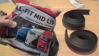getlinkyoutube.com-DIY: Car Lip Kit Review and Install ALL-FIT vs EZ LIP
