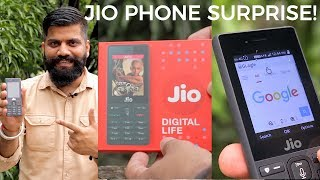 Jio Phone Unboxing and First Look - 1500Rs Dhamaka