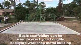 Metal Building Construction Longlife Steel Buildings view on youtube.com tube online.
