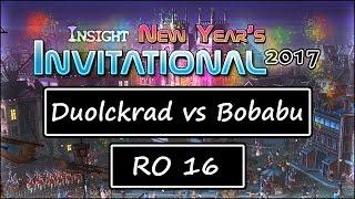 getlinkyoutube.com-Insight Studios: New Year's Invitational - RO16: Duolckrad vs Bobabu