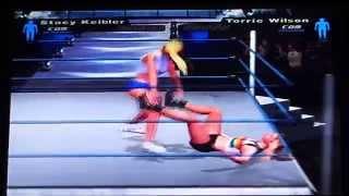 getlinkyoutube.com-WWE Smackdown HCTP Bra & Panties Match Stacy Keibler vs Torrie Wilson