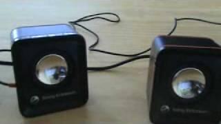getlinkyoutube.com-bocinas sony ericsson con auxiliares para cualquier reproductor de musica con alimentacion usb