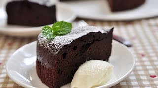 getlinkyoutube.com-無粉超濃巧克力蛋糕。Rich Chocolate Cake (no  flour)