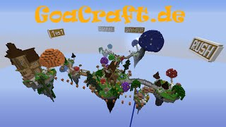 getlinkyoutube.com-[CRACKED] Minecraft Server! IP: GoaCraft.de ! SkyPvP/Survival/BedWars/1vs1