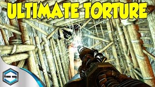 getlinkyoutube.com-Ark Survival Evolved Ultimate Torture In The Cage