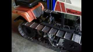 "Mini Dozer Home Built "" Complete Brake Success"""
