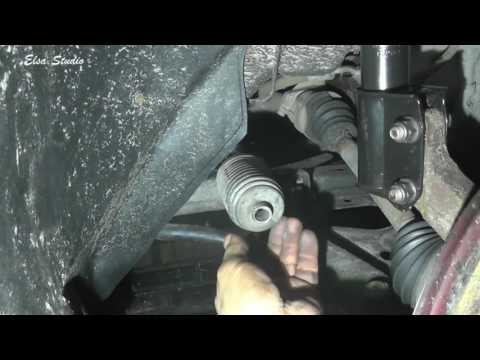 Замена рулевой тяги и наконечника Dacia Logan (Renault Logan)