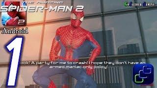 getlinkyoutube.com-The Amazing Spider-Man 2 Android Walkthrough - Gameplay Part 1 - Episode 1