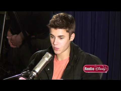 "Justin Bieber's song for his Mom on Radio Disney's ""Celebrity Take"" with Jake"