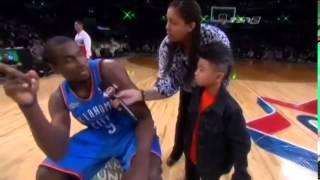 getlinkyoutube.com-Serge Ibaka - 2011 NBA Slam Dunk Contest
