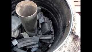 getlinkyoutube.com-The best charcoal retort kiln in the world?
