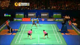 getlinkyoutube.com-Badminton - best of men's doubles 2012